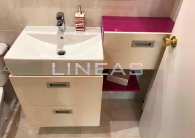 Diseño y colocación de mueble de baño