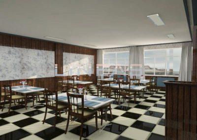 Restyling cafetería restaurante