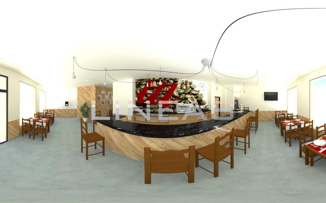 Proyecto reforma cafetería restaurante