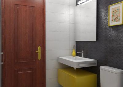 Proyecto de decoración para 2 baños en A Coruña