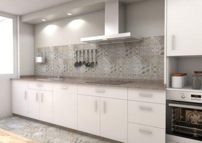 Proyecto de decoración para reforma de piso en Melide