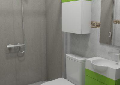 Proyecto de decoración de baño en la Comarca de Arzúa
