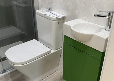 Reforma de baño en la comarca de Arzúa